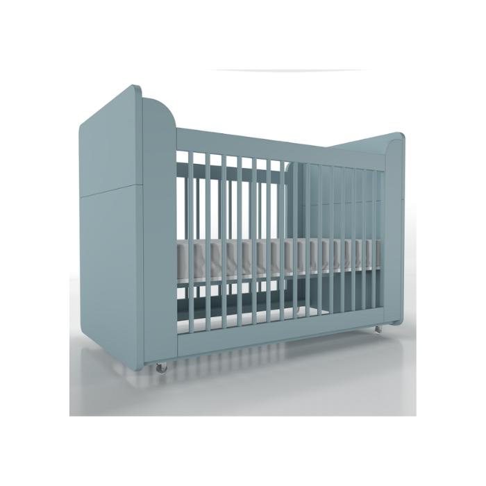 Berço Infantil Optimus Azul - Timber Móveis