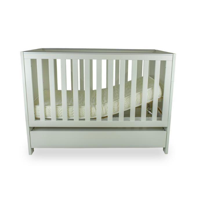 Berço Infantil Soft Branco Fosco  - Divicar Móveis