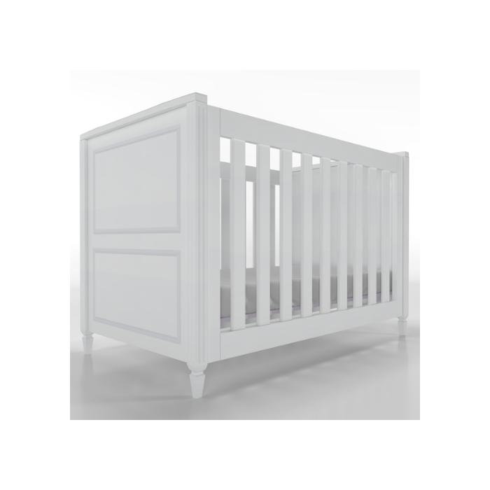 Berço Infantil Tudor Branco - Timber Móveis