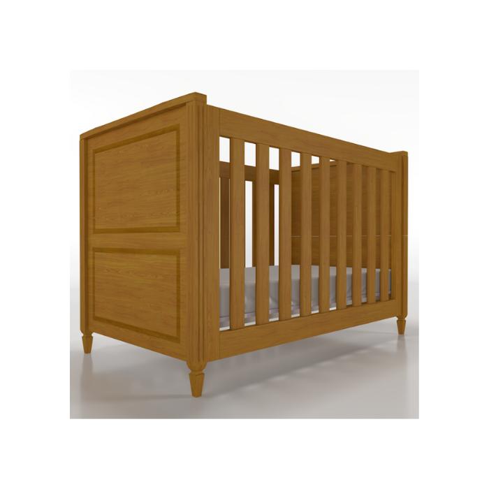 Berço Infantil Tudor Madeira Mel - Timber Móveis