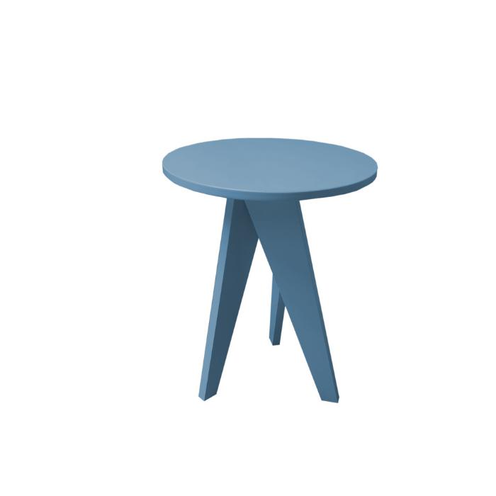 Mesa de Apoio Canção de Ninar Azul Fosco - Divicar Móveis