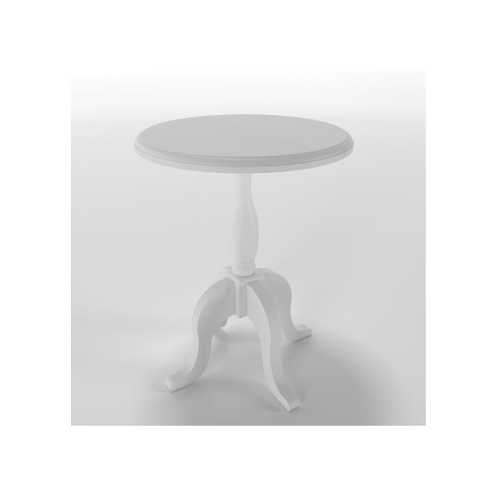 Mesa de Apoio Versailles Branca (Escolher Tamanho) - Timber Móveis