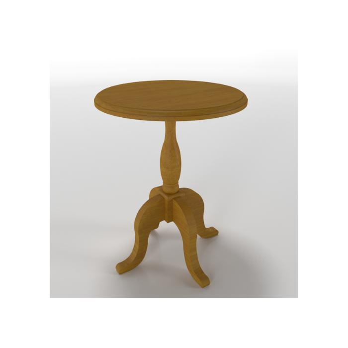 Mesa de Apoio Versailles Madeira Mel (Escolher Tamanho) - Timber Móveis