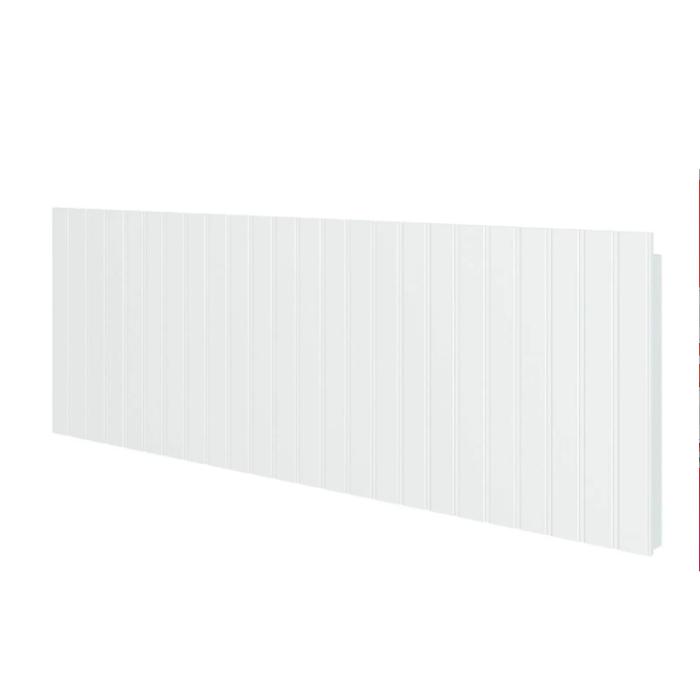 Y Painel Encosto Porta Livros Branco Fosco - Divicar Móveis