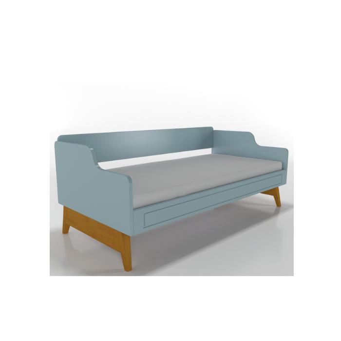 W Cama Sofá Galaxy Azul - Timber Móveis