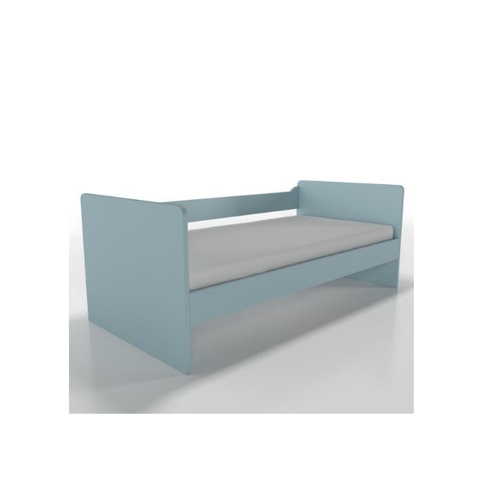 W Cama Sofá Optimus Azul - Timber Móveis