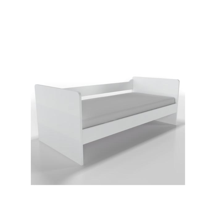 W Cama Sofá Optimus Branca - Timber Móveis