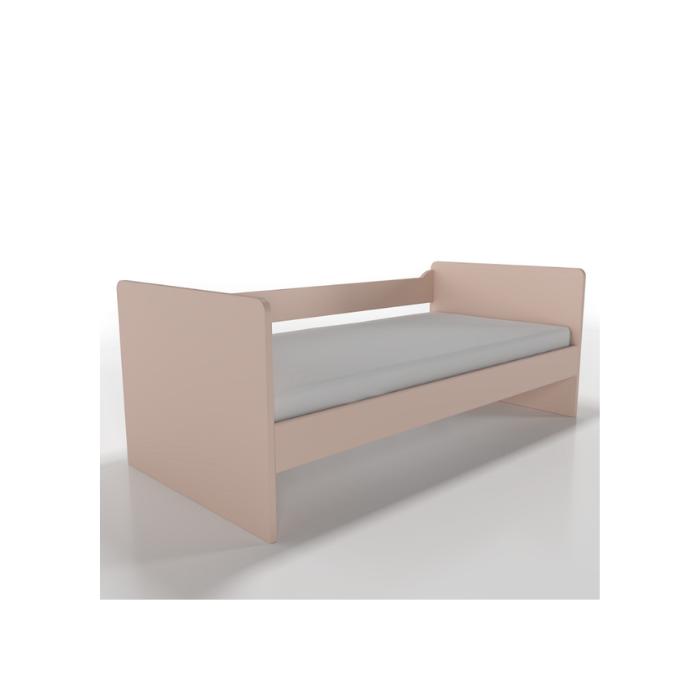 W Cama Sofá Optimus Rosa - Timber Móveis