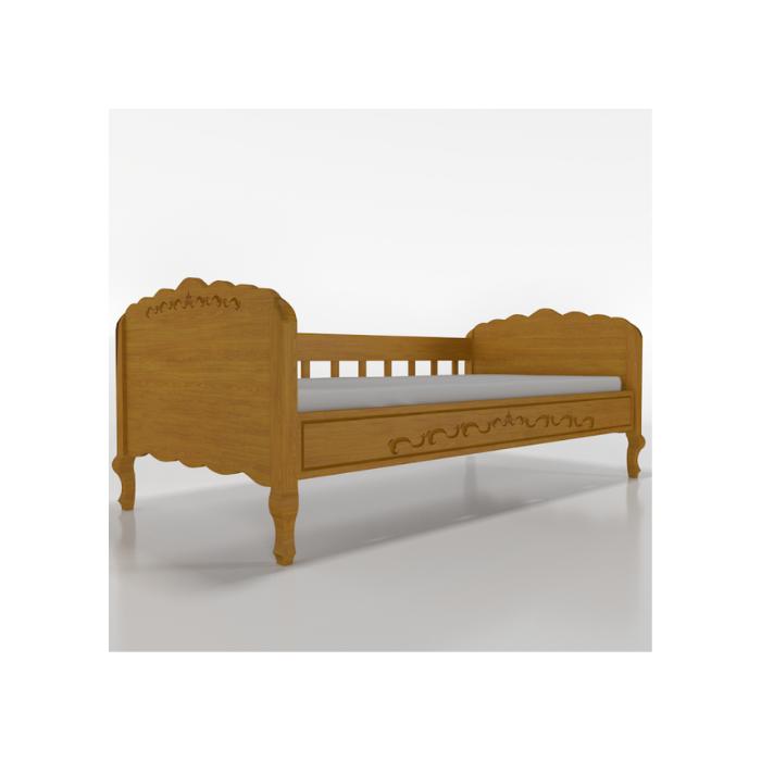 W Cama Sofá Versailles Madeira Mel - Timber Móveis