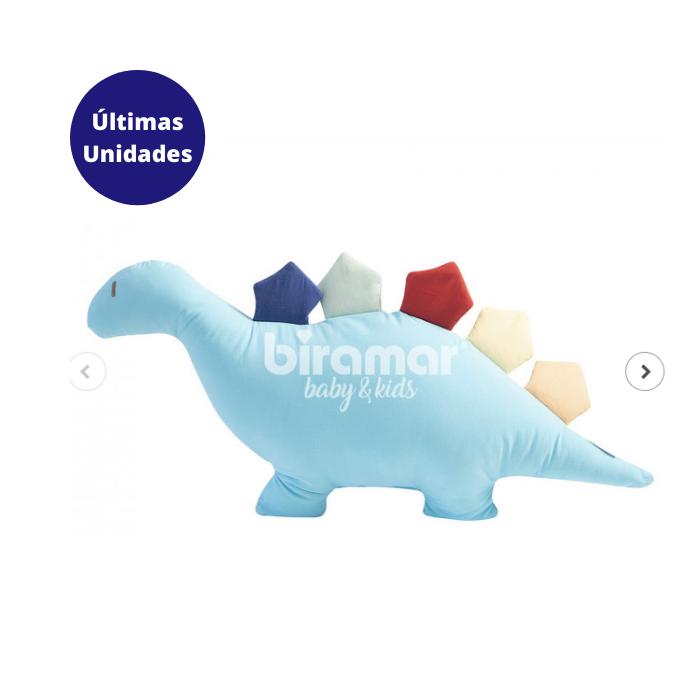 Z - Almofada Decorativa Dino Bento Turquesa - Biramar