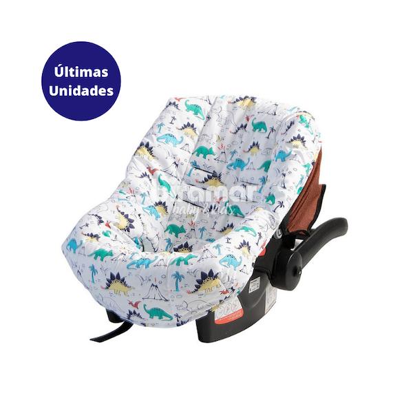 Z - Capa Para Bebê Conforto Ajustável Estampa Dinossauro - Biramar