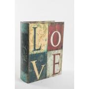 Conjunto 3 livros decorativos
