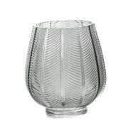 Vaso em vidro geométrico