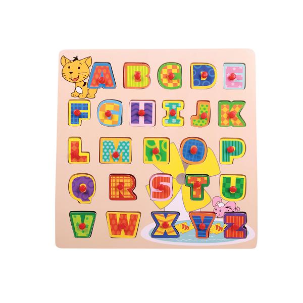 Encaixe e Brinque | Letras