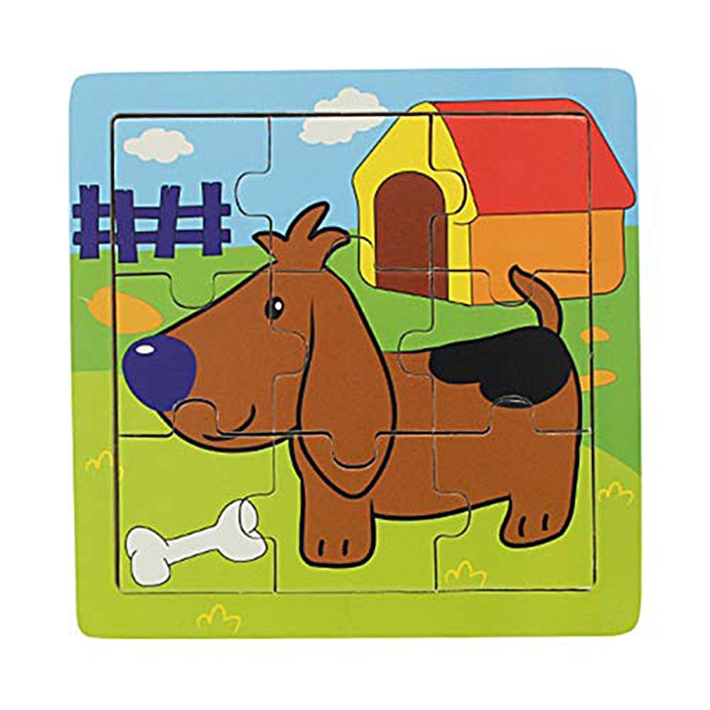 Quebra-Cabeça | Cão (9 Peças)