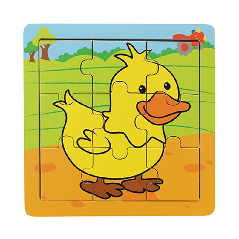Quebra-Cabeça | Pato (9 Peças)