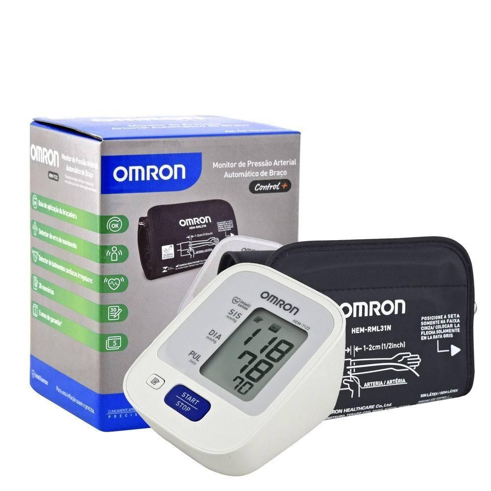 Aparelho de Pressão Arterial Digital OMRON HEM-7122