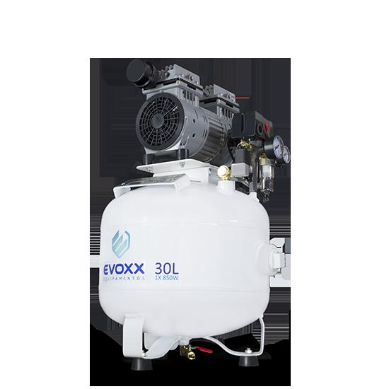 Compressor de Ar 30L 1,14HP Evoxx