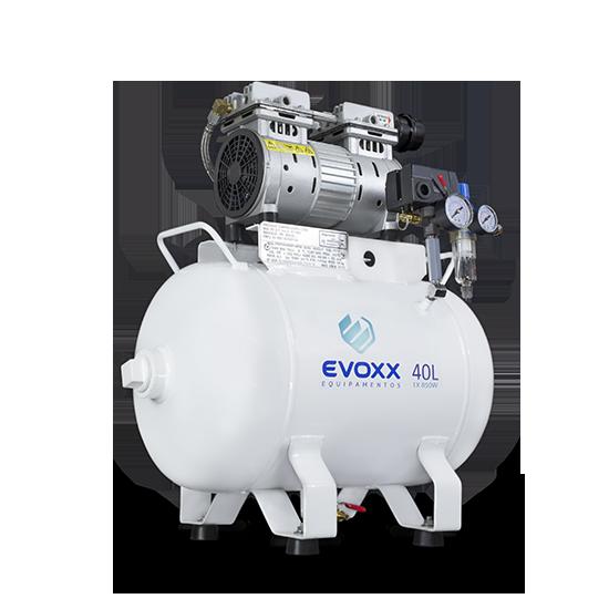 Compressor de Ar 40L 1,14HP Evoxx