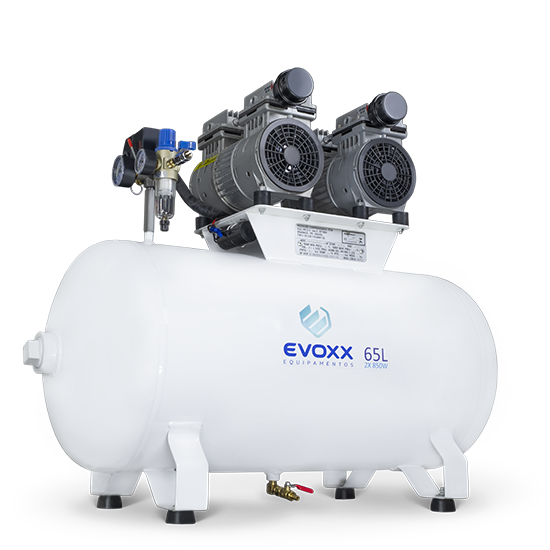 Compressor de Ar 65L 2,28HP Evoxx