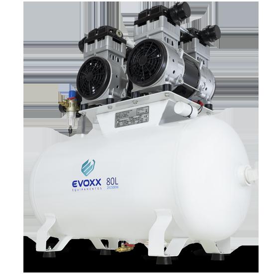 Compressor de Ar 80L 4,0HP Evoxx