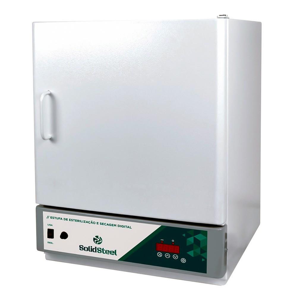 Estufa Esterilização e Secagem Digital 150L SolidSteel