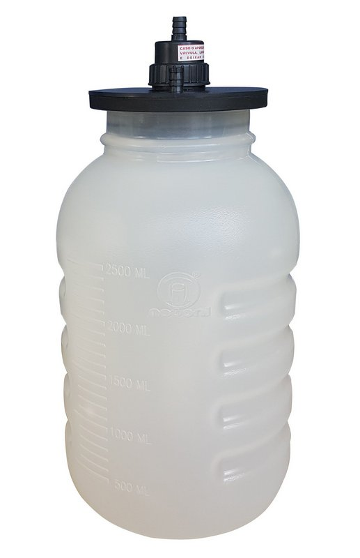 Frasco Coletor 3,250 ml  Nevoni Sem Tampa