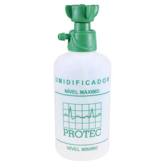 Frasco Umidificador Para Oxigênio 250ml Protec