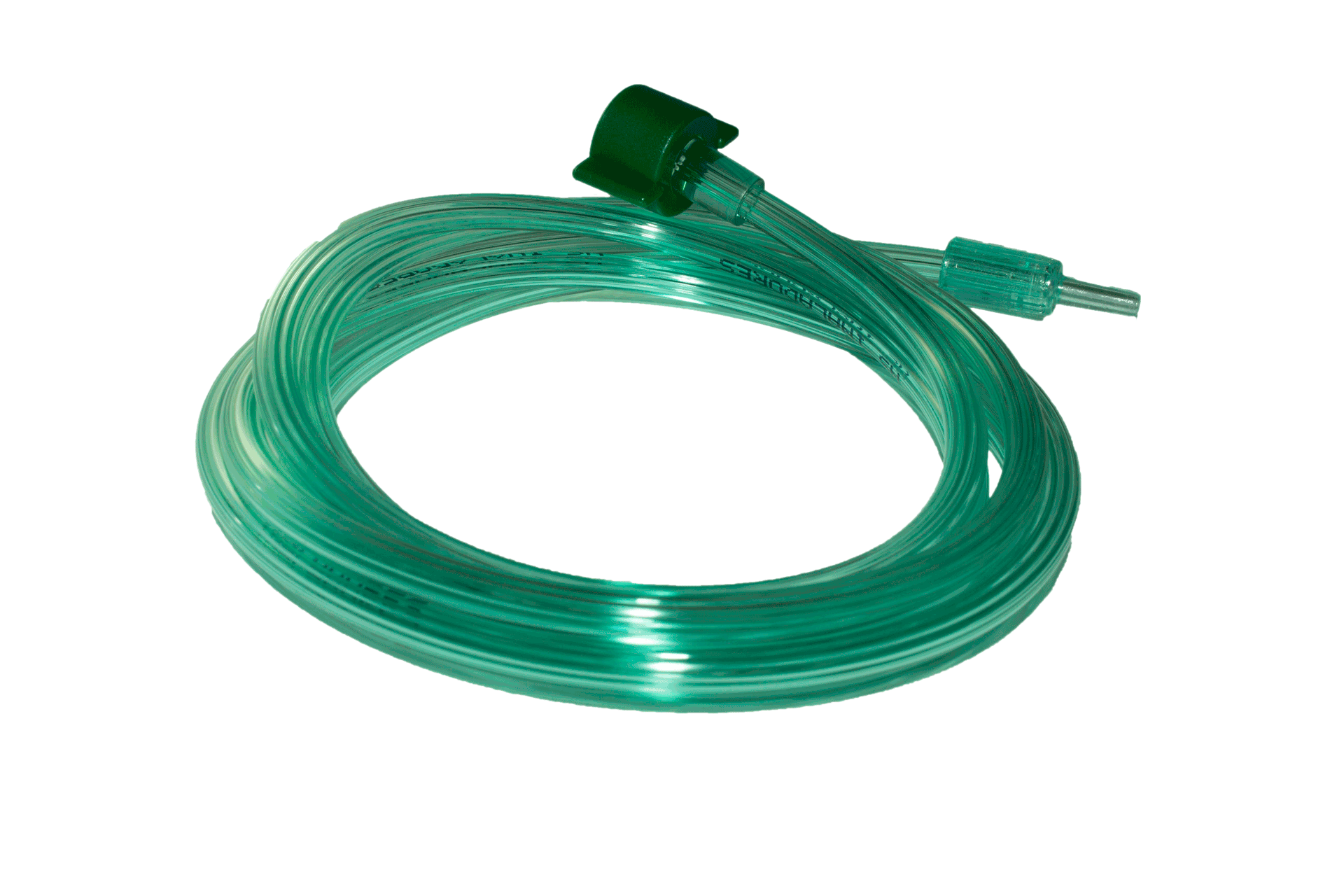 Tubo Verde de Extensão para Inalador Inalar Compact Pino Macho