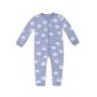 Macacão Moletom Infantil Estampado Toddler Hering Kids - Azul Claro