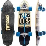 Simulador de Surf Two Dogs Azul