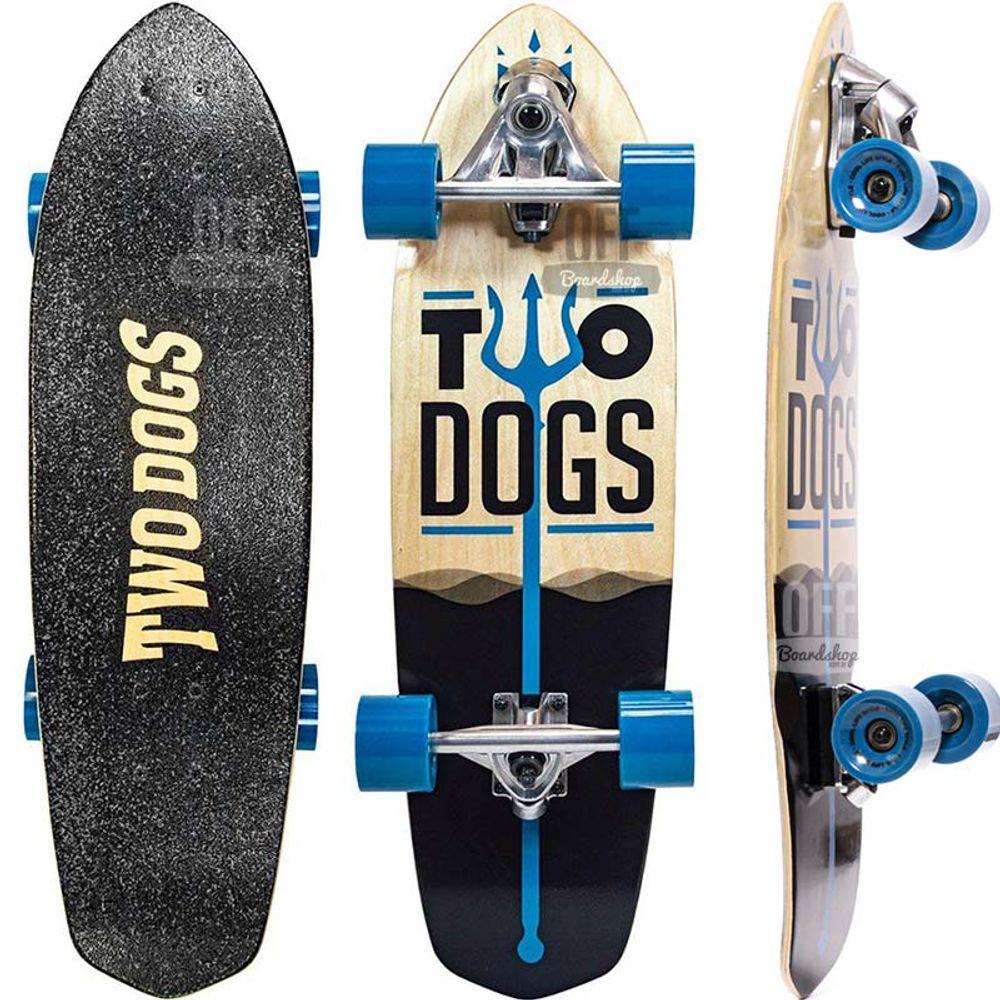 Simulador de Surf Two Dogs Azul  - Ondas do Sul
