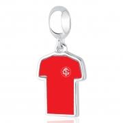 Berloque Camisa Inter Prata 925