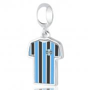 Berloque  Grêmio Camisa Prata 925