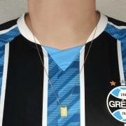 Escapulário Brasão do Grêmio e Mosqueteiro ADULTO OU INFANTIL