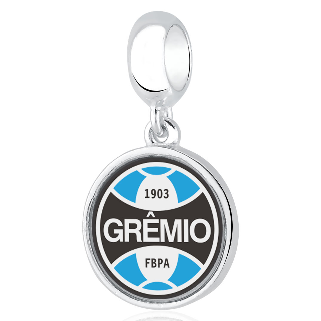 Berloque Prata Grêmio  Redondo