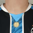 Colar Brasão Grêmio com Zircônia