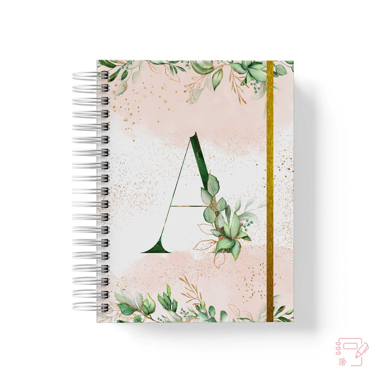 Caderno Personalizado Monograma I