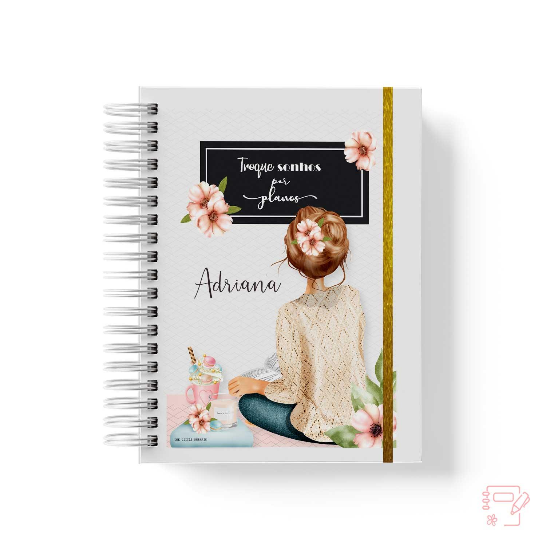 Caderno personalizado Professora