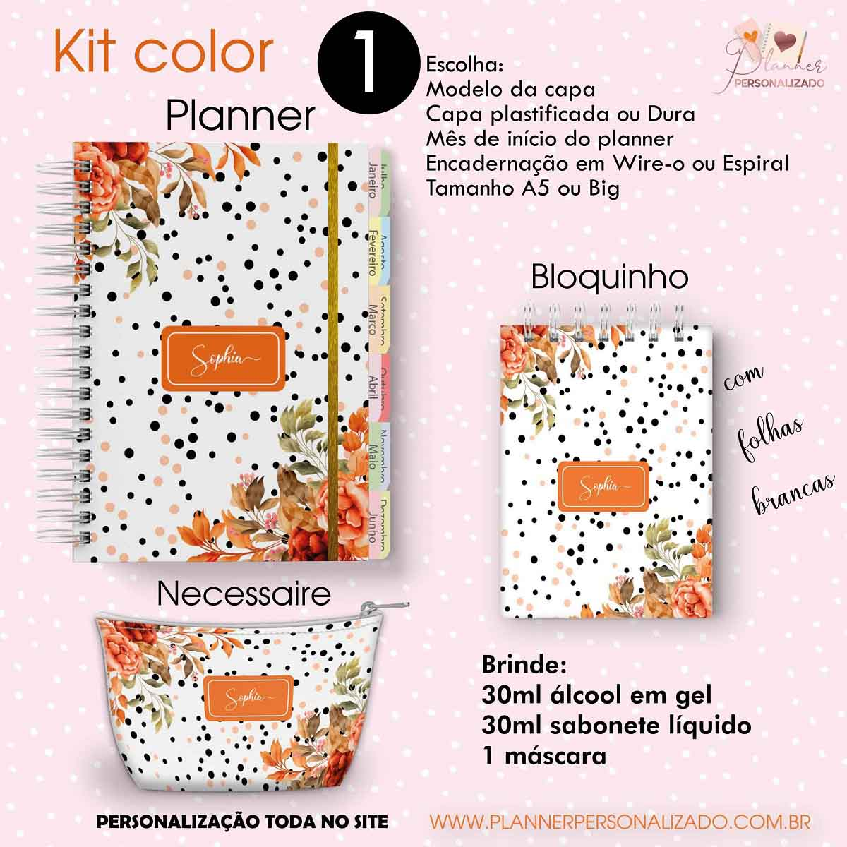 kit Happy Planner Color 1
