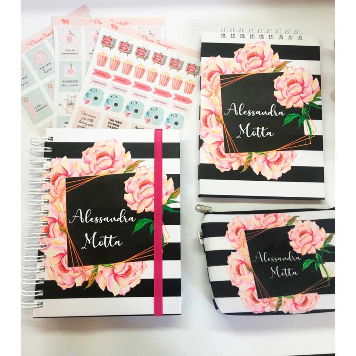 kit Happy Planner Rosê