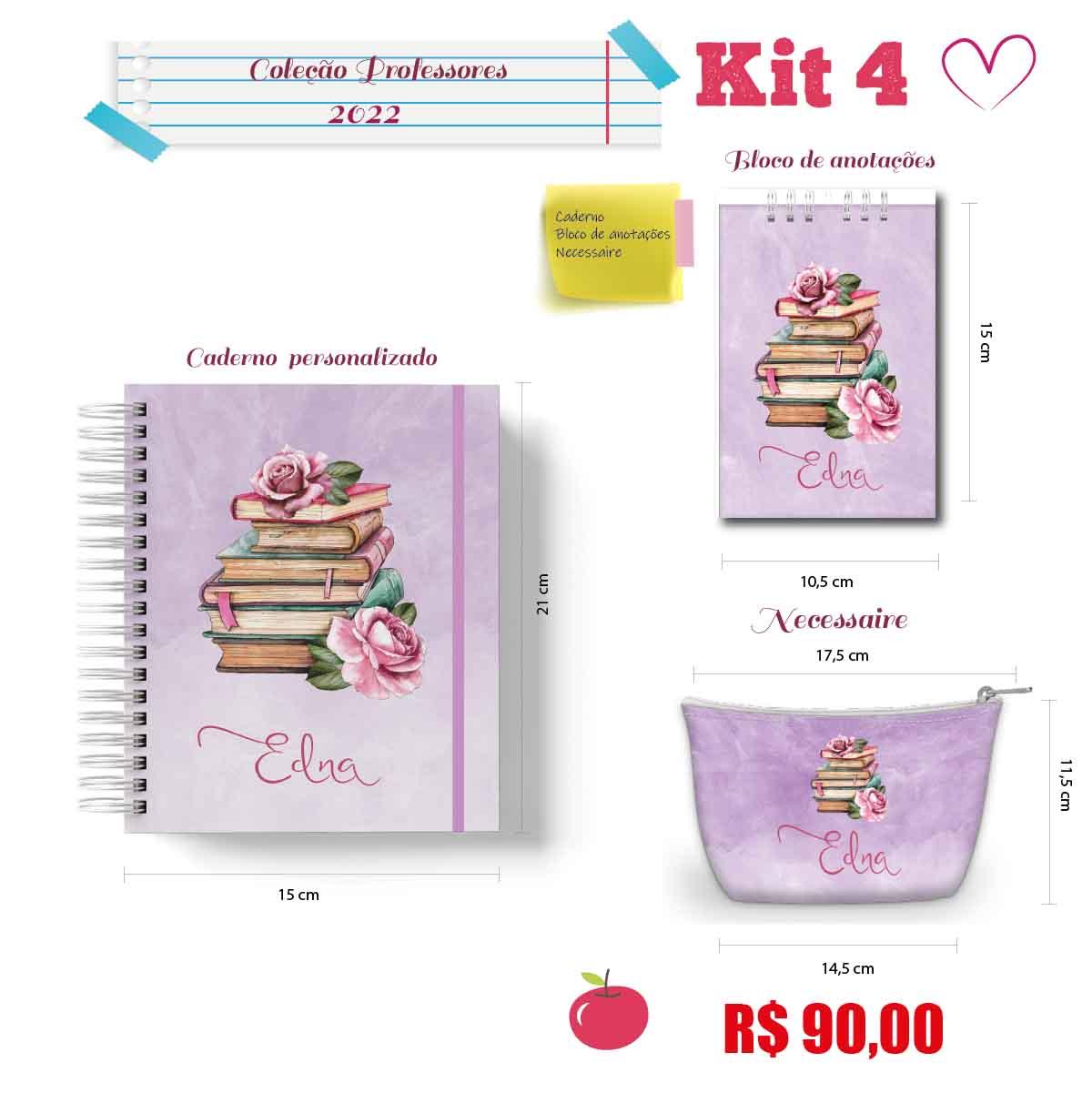 Kit Professora 4