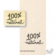 Carimbo 100% Natural - Pandoca
