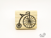 Carimbo Bicicleta bike retro