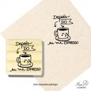 Carimbo Depois do café - Pandoca
