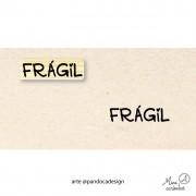 Carimbo Frágil - Pandoca