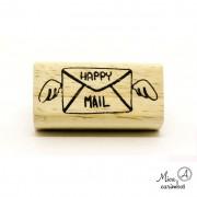 Carimbo Happy mail