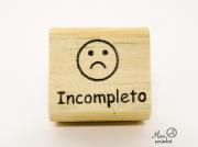 Carimbo Incompleto