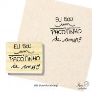 Carimbo Pacotinho - Pandoca