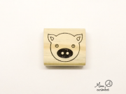 Carimbo Porco - Animais